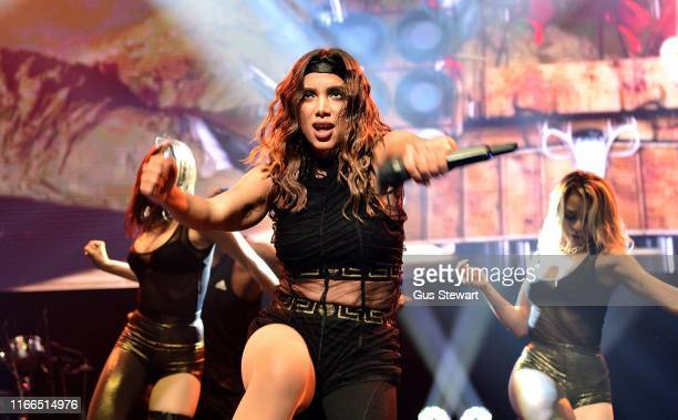 Anitta performs on stage as part of Nile Rodgers' Meltdown at The Royal Festival Hall on August 06 2019 in London England