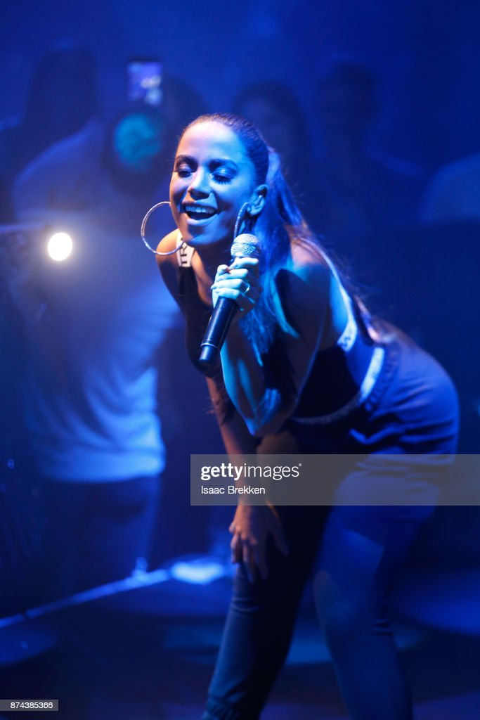 Anitta performs onstage at Spotify Celebrates Latin Music and Their Viva Latino Playlist at Marquee Nightclub on November 14, 2017 in Las Vegas, Nevada.