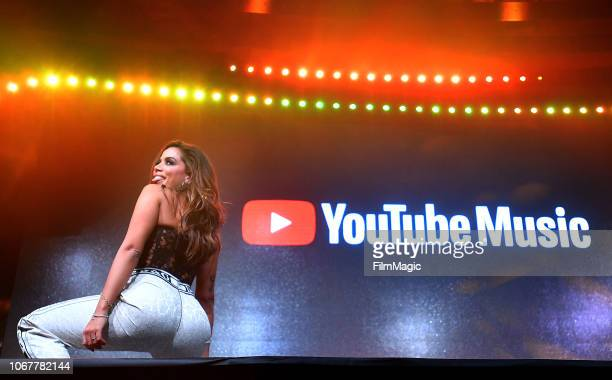 Anitta performs onstage at YouTube Music Ritmo Global A Celebration of Latin Music at Jewel Nightclub on November 14 2018 in Las Vegas Nevada