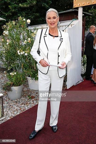 Anja Hauptmann attends the Udo Walz Celebrates His 70th Birthday at BAR jeder Vernunft on July 28 2014 in Berlin Germany