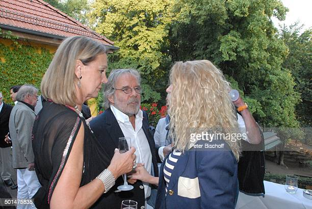 Anja Hauptmann Thomas Fritsch Gratulantin Feier zum 70 Geburtstag von Anja Hauptmann Restaurant 'Fischerhütte am Schlachtensee' Zehlendorf Berlin...