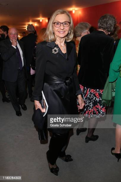 Anja Heyne at the opera premiere of Die tote Stadt by Erich Wolfgang Korngold at Bayerische Staatsoper on November 18 2019 in Munich Germany