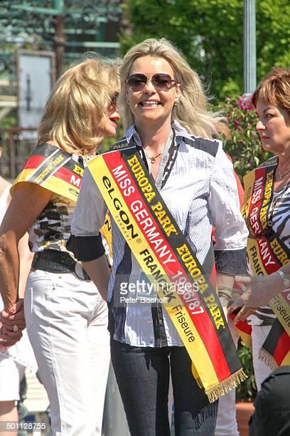 Anja HörnichClüver 'Das große Miss GermanyTreffen' Piazza vom 'Hotel Colosseo' 'EuropaPark' Rust BadenWürttemberg Deutschland Europa Schärpe...