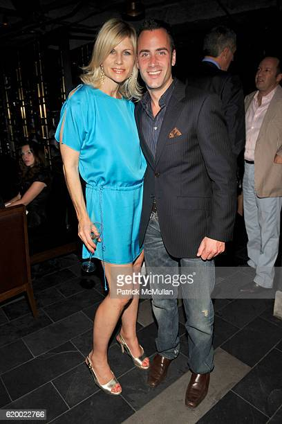 Anja Kaehny and Andrew Lipman attend TORY BURCH Private Dinner at Fontainebleau Hotel on December 5 2008 in Miami Beach FL