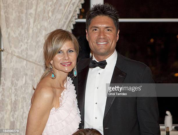 Anja Kaehny and Louis Aguirre attend the Audi Best Buddies Palm Beach Gala at MaraLago on March 18 2011 in Palm Beach Florida