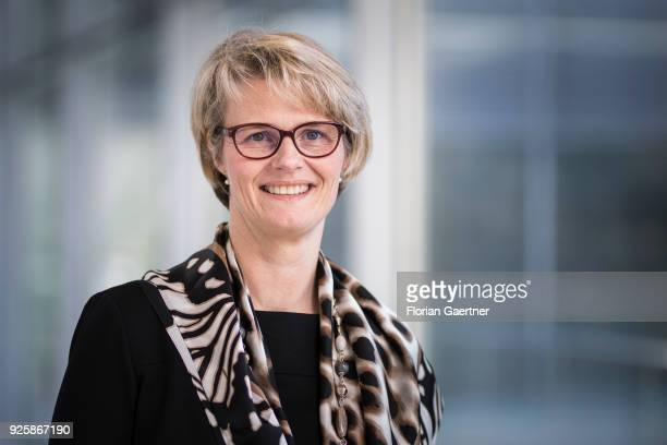 Anja Karliczek Chief Whip of the CDU/CSUfraction at the German Bundestag poses for a photo on March 01 2018 in Berlin Germany