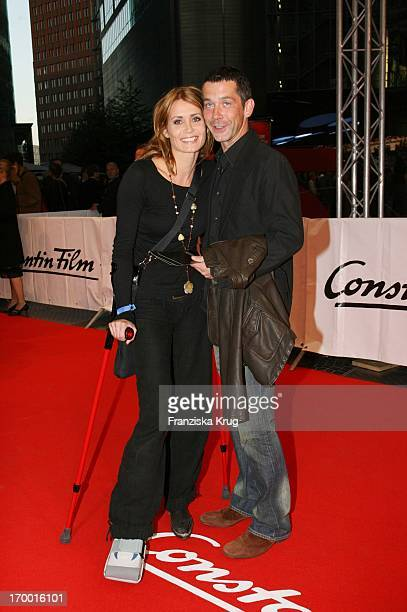 Anja Kling and friend Jens Solf At The Premiere Of The Perfume in Berlin Cinestar
