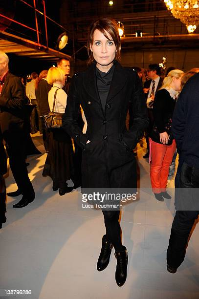 Anja Kling attend the Babelsberg 100th Birthday Ceremony at Studio Babelsberg on February 12, 2012 in Berlin, Germany.