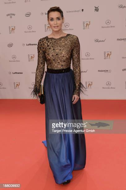 Anja Kling attends the Bambi Awards 2013 at Stage Theater on November 14, 2013 in Berlin, Germany.