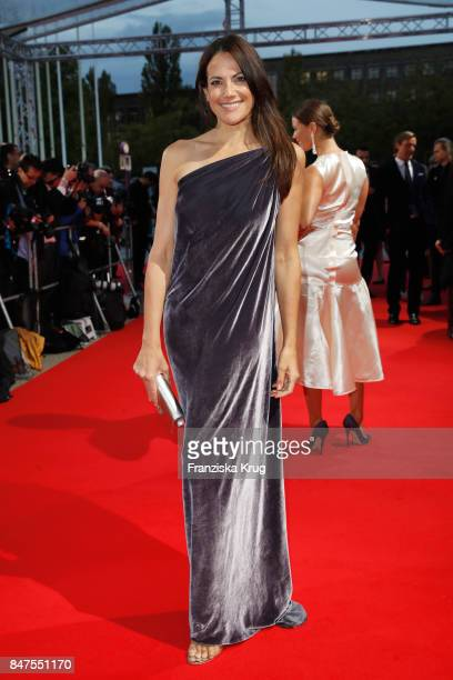 Anja Kling attends the UFA 100th anniversary celebration at Palais am Funkturm on September 15 2017 in Berlin Germany