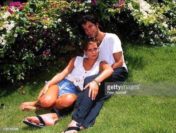 """Anja Kling und Freund Jens Solf, auf der Insel Koh Samui / Thailand, Hotel """"Santiburi Dusit"""", Urlaub, Schauspielerin, Promis, Prominenter, Prominente,"""