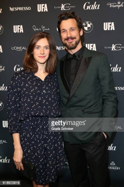 Anja Knauer and Florian David Fitz during the Berlin Opening Night by GALA and UFA Fiction at Das Stue on February 15 2018 in Berlin Germany
