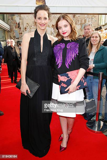 Anja Knauer and Jella Haase attend the smart at the Jupiter Award 2016 in Berlin Germany