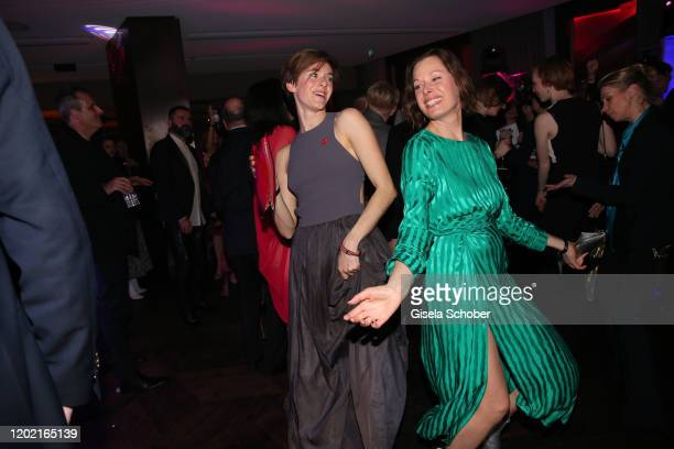 Anja Knauer and Sandrine Mittelstaedt attend the Berlin Opening Night by Bertelsmann Content Alliance at hotel Das Stue on February 20 2020 in Berlin...