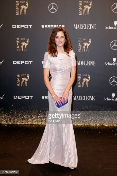 Anja Knauer arrives at the Bambi Awards 2017 at Stage Theater on November 16 2017 in Berlin Germany