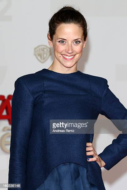 Anja Knauer attends 'Kokowaeaeh 2' Germany Premiere at Cinestar Potsdamer Platz on January 29 2013 in Berlin Germany