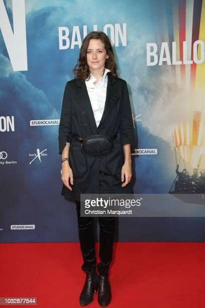 Anja Knauer attends the 'Ballon' premiere at Zoo Palast on September 13 2018 in Berlin Germany
