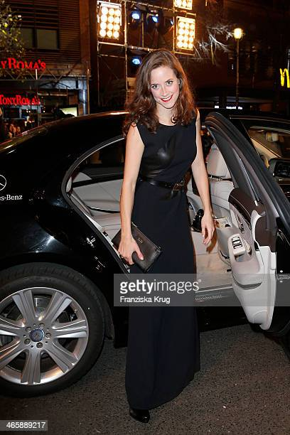 Anja Knauer attends the Bambi Awards 2013 at Stage Theater on November 14 2013 in Berlin Germany