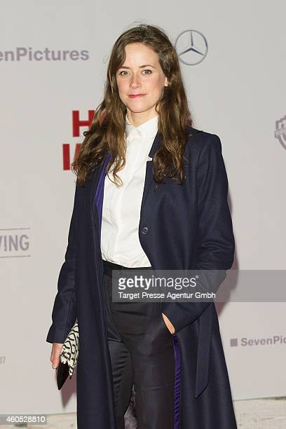 Anja Knauer attends the 'Honig im Kopf' Premiere at CineStar on December 15 2014 in Berlin Germany