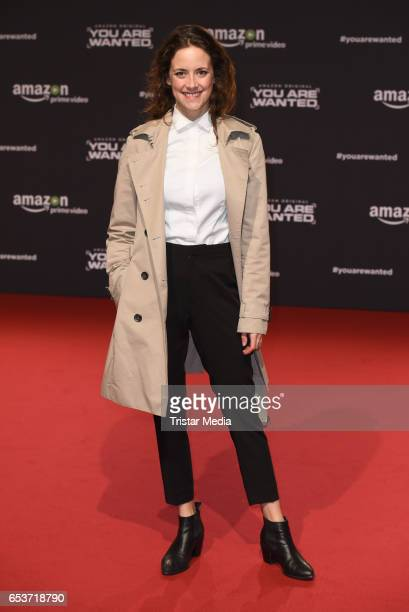 Anja Knauer attends the premiere of the Amazon series 'You are wanted' at CineStar on March 15 2017 in Berlin Germany