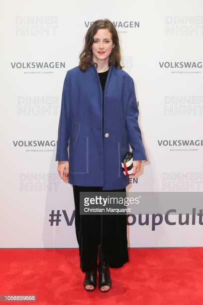 Anja Knauer attends the Volkswagen Dinner Night at DRIVE Volkswagen Group Forum on November 07 2018 in Berlin Germany