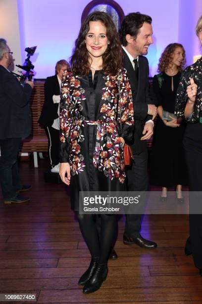 Anja Knauer during the ARD advent dinner hosted by the program director of the tv station Erstes Deutsches Fernsehen at Hotel Bayerischer Hof on...