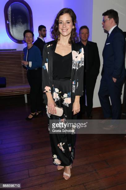 Anja Knauer during the ARD advent dinner hosted by the program director of the tv station Erstes Deutsches Fernsehen at Hotel Bayerischer Hof on...
