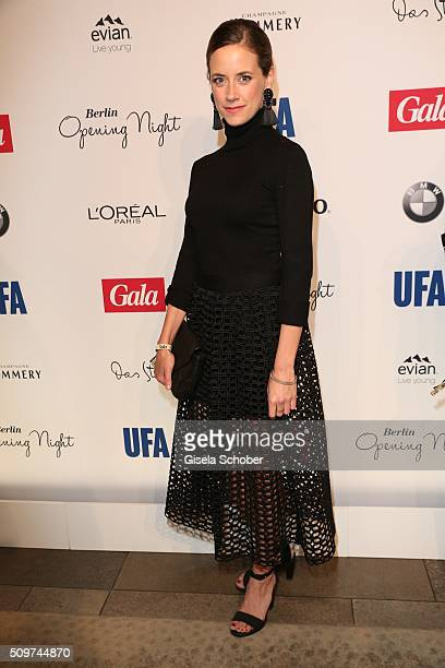 Anja Knauer during the 'Berlin Opening Night of GALA UFA Fiction' at Das Stue Hotel on February 11 2016 in Berlin Germany