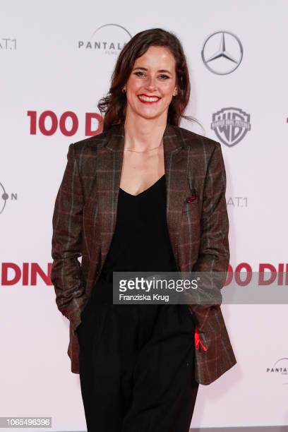 Anja Knauer during the German premiere of the movie '100 Dinge' at CineStar on November 26 2018 in Berlin Germany