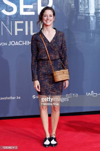 Anja Knauer during the 'Mackie Messer Brechts Dreigroschenfilm' premiere at Zoo Palast on September 10 2018 in Berlin Germany