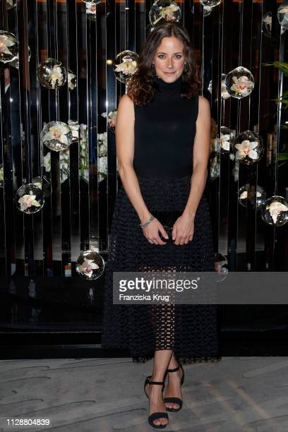 Anja Knauer during the Ritz Carlton Berlin ReOpening Party at Ritz Carlton on March 5 2019 in Berlin Germany