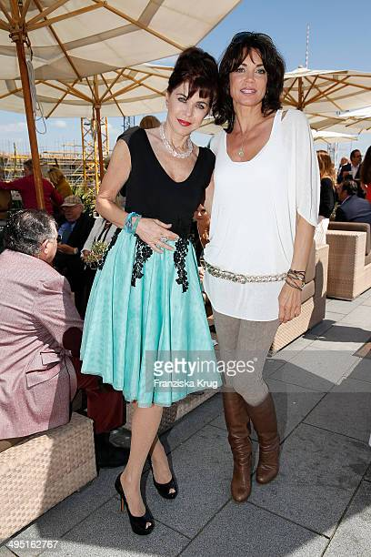 Anja Kruse and Gerit Kling attend 'Staatsoper fuer alle 2014' Open Air Concert on June 01 2014 in Berlin Germany