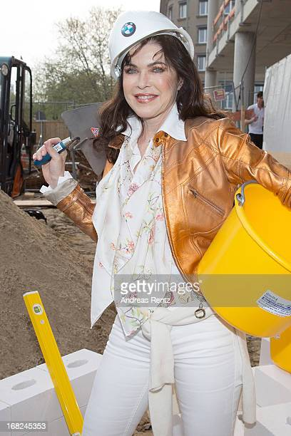 Anja Kruse attends roofing ceremony at BMW new Berlin location at BMW Niederlassung Berlin on May 7 2013 in Berlin Germany
