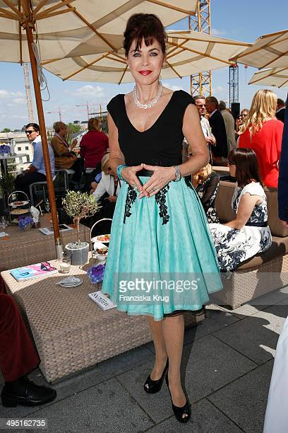 Anja Kruse attends 'Staatsoper fuer alle 2014' Open Air Concert on June 01 2014 in Berlin Germany