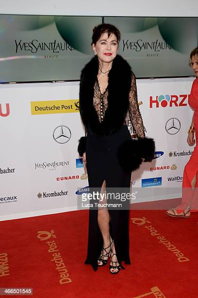 Anja Kruse attends the 49th Golden Camera Awards at Tempelhof Airport on February 1 2014 in Berlin Germany