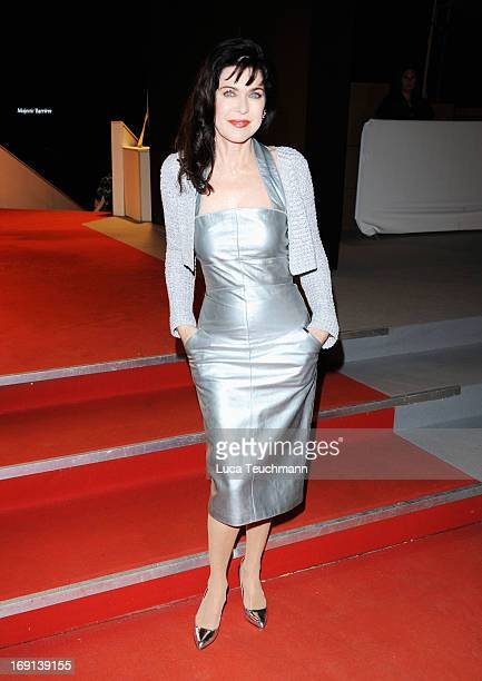 Anja Kruse attends the German Films reception during the 66th Annual Cannes Film Festival at the Majestic Beach on May 20 2013 in Cannes France