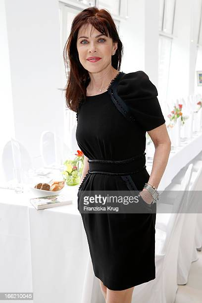Anja Kruse attends the Ladies Lunch at the Ellington Hotel on April 10 2013 in Berlin Germany