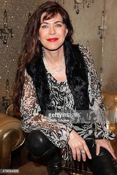 Anja Kruse attends the NDF After Work Presse Cocktail at Parkcafe on March 19 2014 in Munich Germany