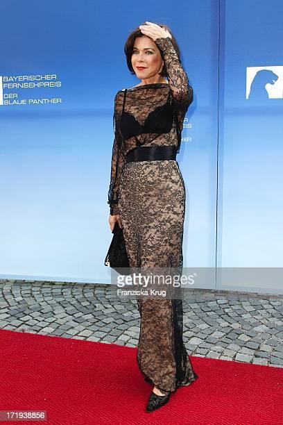 Anja Kruse Bei Der Verleihung Des Bayerischen Fernsehpreis Im Prinzregententheater In München