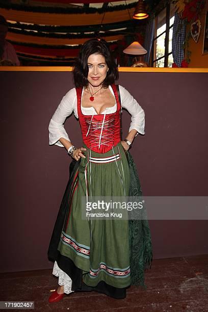 Anja Kruse Beim Condor Stammtisch Im Hippodrom Auf Dem Oktoberfest In München Am 220907