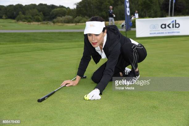 Anja Kruse during the 10th GRK Golf Charity Masters on August 19 2017 in Leipzig Germany