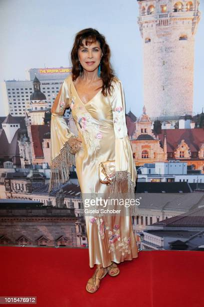 Anja Kruse during the 11th GRK Golf Charity Masters reception on August 11 2018 at The Westin Hotel in Leipzig Germany