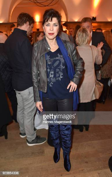 Anja Kruse during the 40th anniversary celebration of the ZDF TV series SOKO Munich at Seehaus on February 24 2018 in Munich Germany