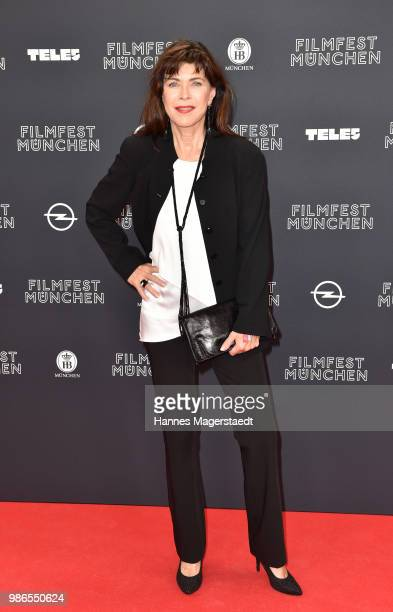 Anja Kruse during the opening night of the Munich Film Festival 2018 at Mathaeser Filmpalast on June 28 2018 in Munich Germany