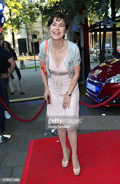 Anja Kruse during the Peugeot BVC Castingnight Summer 2015 at Kaeferschaenke on June 28 2015 in Munich Germany
