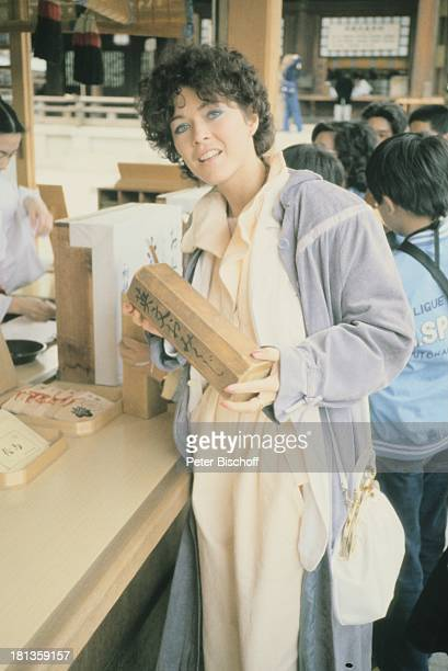 Anja Kruse, Japan, Kyoto, Japan, Asien, , Urlaub, Einkaufs-bummel, Tradition, HandTasche, Schauspielerin,