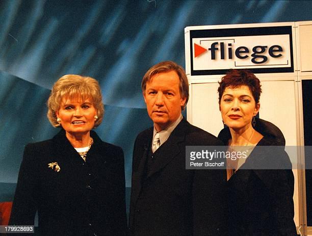 """Anja Kruse, Jürgen Fliege, Hannelore Kohl,;""""5 Jahre Fliege-Das Jubiläum"""" ARD,"""