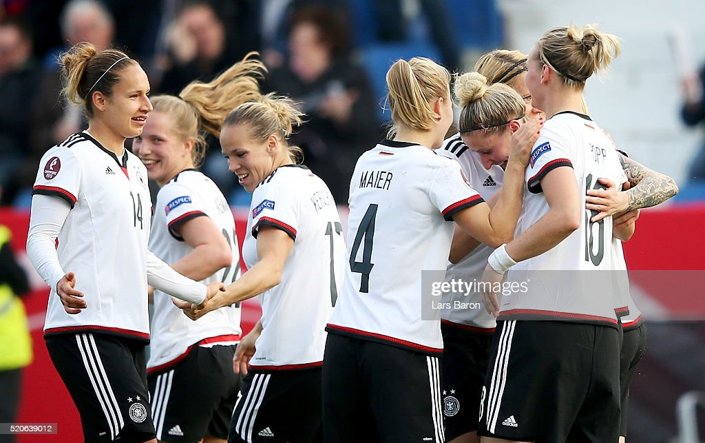 Germany v Croatia  - UEFA Women's Euro 2017 Qualifier