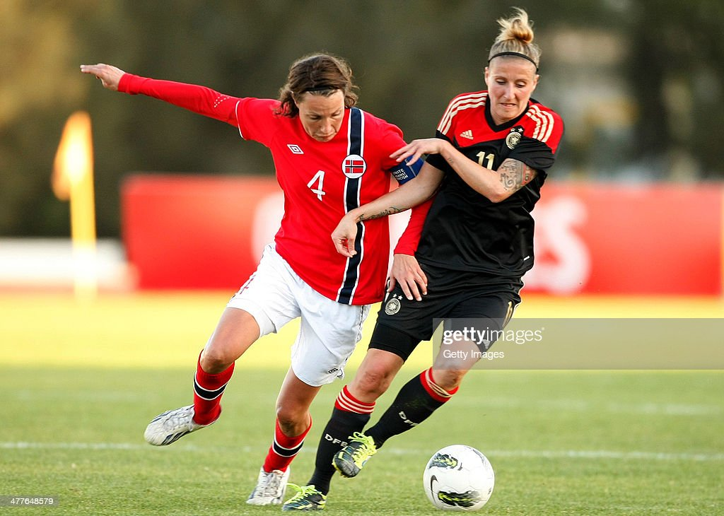 Germany v Norway - Women's Algarve Cup 2014