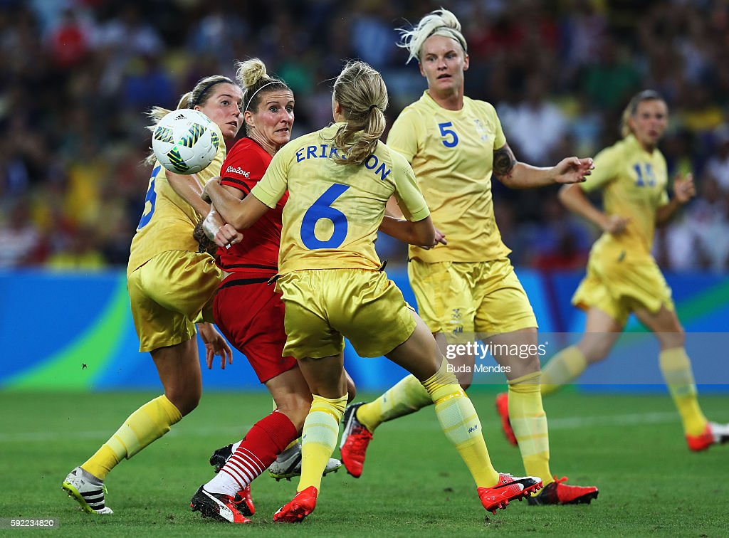 Sweden v Germany: Women's Football - Olympics: Day 14 : News Photo